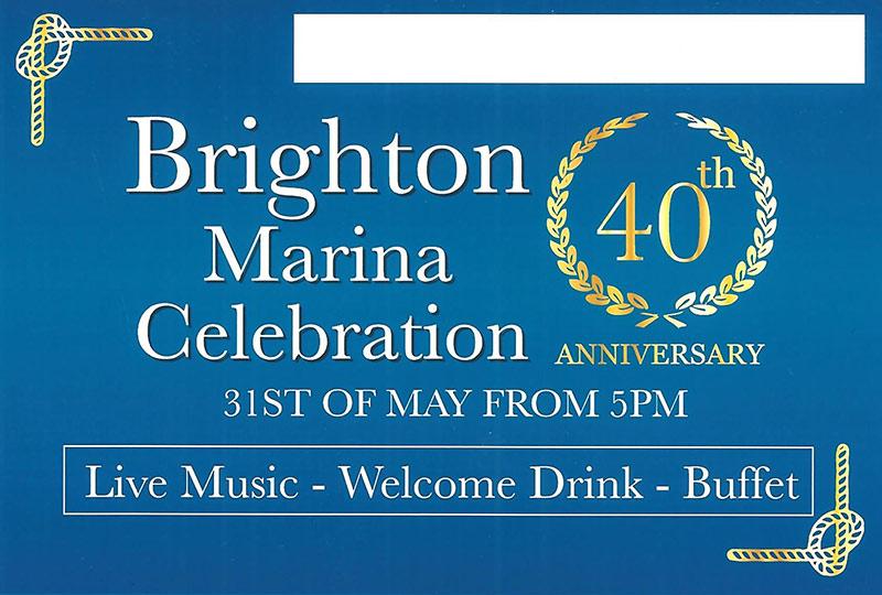 brighton marina anniversary