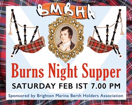 burns night supper 2020